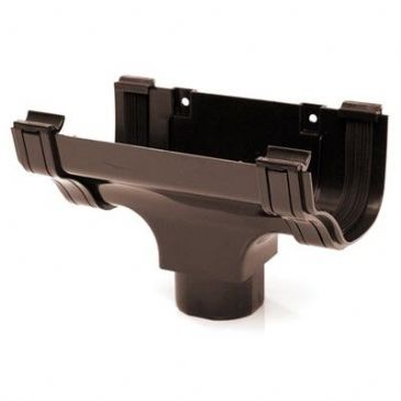 OGEE GUTTER HOPPER BROWN (ROG05B)